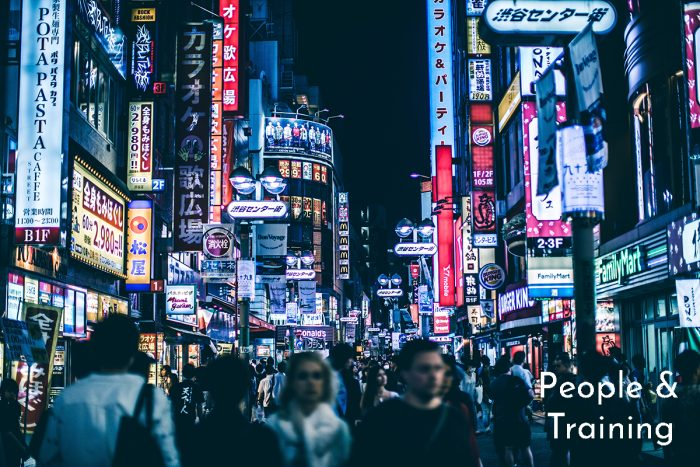 Holistic Security Workflow - People Walking in Japan